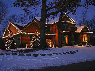 Pro Christmas Light Installation Ca